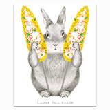 I Love You Elote Greeting Card