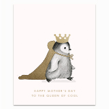 The Queen of Cool Greeting Card