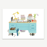 The Book Lover's Desk Stationery